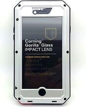 NEW Waterproof Shockproof Aluminum Gorilla Metal Cover for iPhone 6 4.7''-Silver
