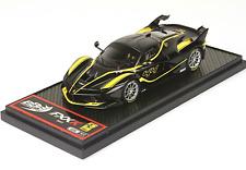 BBR BBRC175G Ferrari FXXK - Black/Yellow - Nero Stellato Car n.44 BRAND NEW