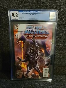 HE-MAN And The MASTERS Of The UNIVERSE #1 1:25  Wilkins variant CGC 9.8 !  Rare
