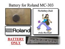 Battery for Roland MC-303 Groovebox - Internal Memory Replacement Battery