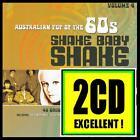 60's (2 CD) SHAKE BABY SHAKE - AUSTRALIAN POP OF THE 60's - Volume 4 *NEW*