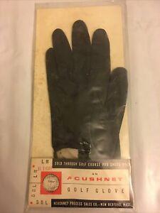 Vintage Titleist Acushnet Golf Glove Rt Hand Original Packaging Right LM