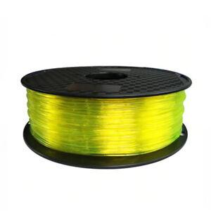 1.75mm Soft 3D Printer Filament TPU Model Filaments Flexible Elastic Printing