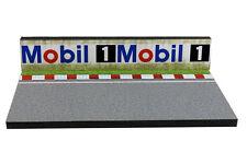 Diorama présentoir Circuit Mobil 1 - 1/43ème - #43-2-Q-N-007