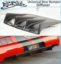 Universal Rear Diffuser Kit Under Rear Bumper,BMW,HONDA,FORD,DODGE,car tuning.