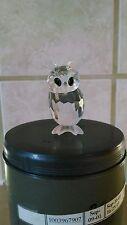 Swarovski Crystal Night Owl 7636NR000002/206133 Retired