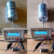 Siemens Folienkondensator 1300pF 1,3nF / 1500pF 1,5nF 160V Ø11mm x 22mm