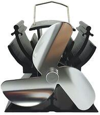 12.5cm MINI Calore Alimentato STOVE Top fan per le piccole lo spazio in legno/Log Burner/firepla