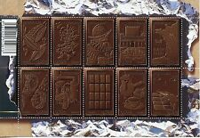 STAMP / TIMBRE  FRANCE  FEUILLET N° F4357 ** LE CHOCOLAT / TIMBRE PARFUME