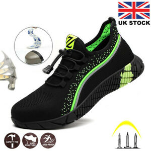 MENS SAFETY BOOTS TRAINERS WOMENS SHOES WORK STEEL TOE CAP HIKER UK SIZE 6 - 11