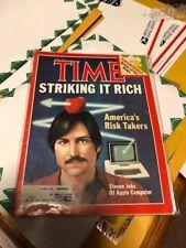 magazine time  STEVE JOBS APPLE  FEBRUARY 15  1982