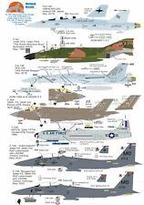 Wolfpak Decals 72-135 Diamonds in the Rough F/A-18 F-4 Phantom Lightning Boeing