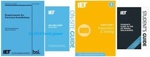 BS7671 & OSG & GN3 & FREE Student Guide 4 books NEW OFFER