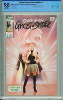 Spider-Gwen: Ghost Spider #1 Comic Mint / Sad Lemon Exclusive - CBCS 9.8!
