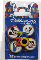 Disneyland Paris 2020 Spinner Pin Badge - Spinning Mickey Minnie Goofy Donald