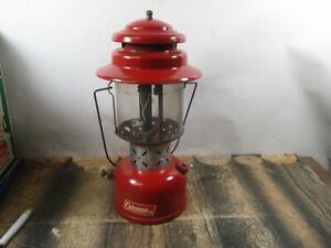 COLEMAN LANTERN 220E RED  DATED 5 - 64  NO RESERVE