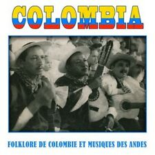 CD Colombia, Colombian folklore and music of the Andes / IMPORT