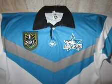 CRONULLA SHARKS VINTAGE 1999 CLASSIC SPORTS NRL JERSEY SIZE XL
