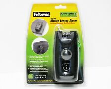 Fellowes Motion Sensor Alarm Notebook / Computer Anti Theft Device