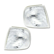 NEW Replacement Clear Front Corner Lights Assembly for Ford F150 96-97 Set Pair