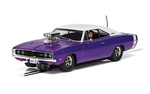 Scalextric C4148 Dodge Charger R/T, Purple 1:32 analog slot car