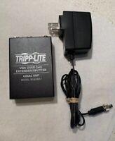 Tripp Lite 2-Port VGA over Cat5 / Cat6 Extender Splitter Transmitter Local Unit