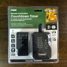 PRIME Outdoor Residential Lighting Countdown Timer Remote Photocell *BRAND NEW*