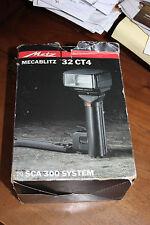 Flash metz megablitz 32 ct4 funzionante ottime condizioni vintage fotografia