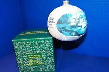 Thomas Kinkade Moonlit Sleigh Ride Christmas Ornament Ball Bulb in Box 2004
