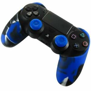 Bluefire PS4 Controller Silicio Cover Blu DX6D-BF-JP-123 Nuovo Giappone F/S