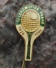 1986 TJ Lokomotiva Tennis Club Prague Raquet Club 60th Anniversary Pin Badge