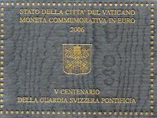 2 Euro Commémorative de Vatican 2006 Brillant Universel (BU) - Garde Suisse