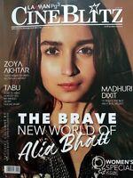 Cine Blitz March 2019 Alia Bhatt Madhuri Dixit Tabu Sanya Malhotra Zoya Akhtar