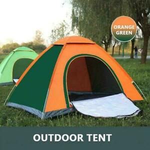 Outdoor Quick-opening Family Single Double Fully Automatic Camping Tents P6X3