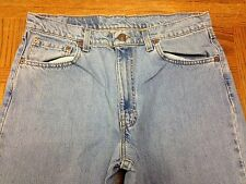 LEVIS 550 RELAXED FIT VINTAGE USA JEANS ACTUAL 34 x 36 Tag 36 x 36 EUC BEST S40