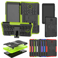 "For Samsung Galaxy Tab A 8.0"" T387 2018 Military Shockproof Hybrid PC Case Cover"