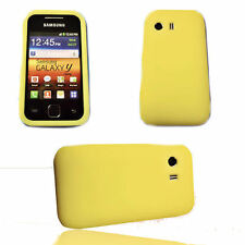 Silikon TPU Handy Hülle Cover Case Schutzhülle  Gelb für Samsung S5360 Galaxy Y