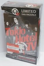 Tokio Hotel TV DVD + T-Shirt Fan Package Deluxe Edition Caught On Camera - NEW