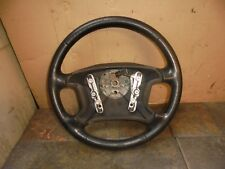 FORD COUGAR 2000 BLACK LEATHER STEERING WHEEL
