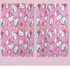 Cotton Blend Floral Curtains for Children