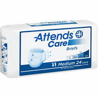 Attends Homecare Breathable Briefs Medium 32''-44'' -Bag of 24 #BRHC20 ''''