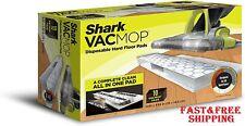 Shark Vacmop Disposable Hard Floor Pads use with Co 00002D3E rdless Shark Vacmop 10 Count