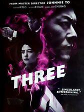THREE ~ DVD SEXY VICKI ZHAO drug WAR Johnnie To EMERGENCY explosive ACTION FILM