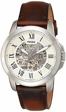 Fossil Men's ME3099 Automatic Stainless Steel Watch with Brown Band