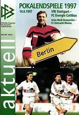 DFB-Pokalendspiel 14.06.1997 VfB Stuttgart - Energie Cottbus in Berlin