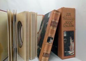 Vintage Our Wedding Book and Album Hardcover with Case Robert Frederick Ltd