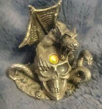 Dark Secrets - The sabre toothed skull - 6226 pewter ornament