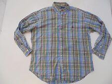Ralph Lauren multi colour checks shirt - Large mens - S5196
