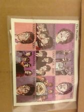 Beatles Stamps Tanzania 1995 on 9 Stamp Sheet COA 1948