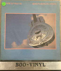 Dire Straits - Brothers In Arms - Vinyl LP Album + Inner - VERH 25 EX / VG+ CON